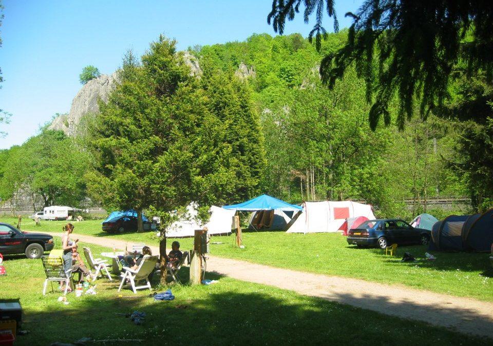 De camping is open!